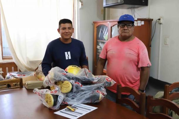 Acca dona kit de seguridad a castañeros de Madre de Dios