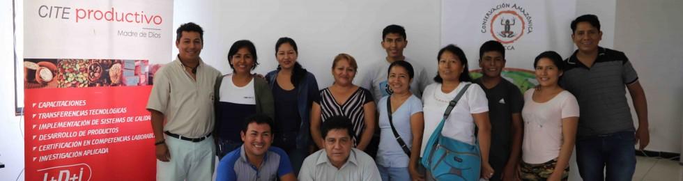 PRODUCTORES LOCALES SE CAPACITAN PARA ACCEDER AL MERCADO INTERNACIONAL