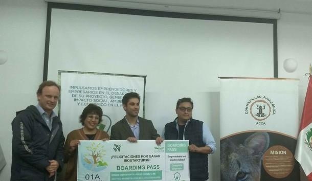 PROYECTO DE ACEITE DE KIWICHA GANA COMPETENCIA DE BIOCOMERCIO