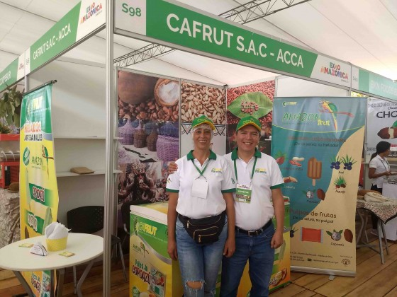 empresa que transforma frutas locales apoyados por ACCA